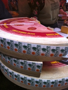 this is CHEESE. and not just any cheese. the prince of cheeses…comte.